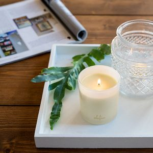 Alefia Scented Candle Woody & Floral
